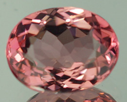 1.82 CT 9X7MM  Padparadscha Color !! Congo Tourmaline Untreated -PT55