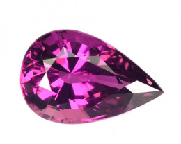 ~DAZZLING~ 1.65 Cts Sweet Pink Natural Tourmaline Pear Cut Mozambique