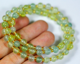 117.5Ct  Natural Jadeite Jade  Necklace