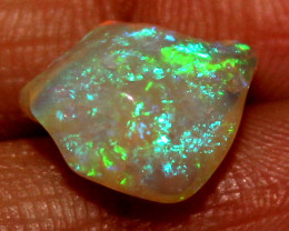 2.70 Crt Natural Ethiopian FreeForm Welo Fire Opal Carvin 12