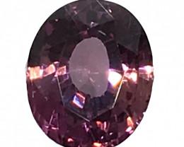 IGI Certified Pink Sapphire 1.04 cts