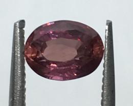 IGI Certified Pink Sapphire 1.09 cts