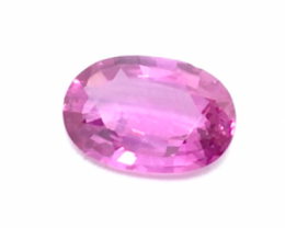 IGI Certified Pink Sapphire 1.08 cts