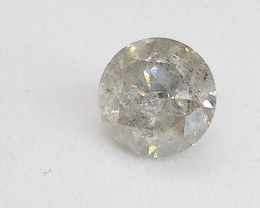 0.77ct  L-I2 Diamond , 100% Natural Untreated