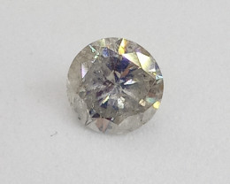 0.38ct  M/I1 Diamond , 100% Natural Untreated