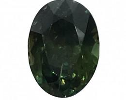 IGI Certified Green Sapphire 1.69 cts