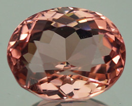 2.22 CT Padparadscha Color !! Congo Tourmaline Untreated - PT59
