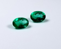 Beautiful Pair of Emeralds