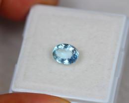 1.02ct Blue Aquamarine Oval Cut Lot GW3886