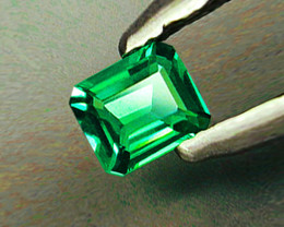 Absolute High-End! 1.31 ct Gorgeous Zambian Emerald Certified!