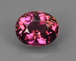 1.05 CTS INVESTMENT GEM~VIP TOP PINK TOURMALINE~OVAL~CUT EXCLUSIVE !!