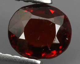 ~BEAUTEOUS TOP UNHEATED RED NATURAL SPINEL OVAL GEMSTONE SRILANKA