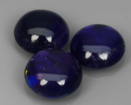 BEAUTY 12.50 Cts RAVISHING NATURAL DEEP PURPLE AMETHYST~CABS GEM!