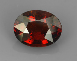 2.35 CTS EXQUISITE TOP FIRE NATURAL NICE RED COLOR SPESSARTITE GARNET!!