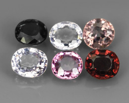 4.15~CTS GENUINE NATURAL ULTRA RARE COLLECTION OVAL FANCY SPINEL~