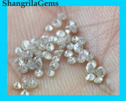 1ct Grey Diamonds brilliant cut round 75 to 80 diamonds approx
