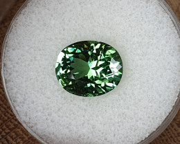 5,26ct Green Tourmaline - Master cut!