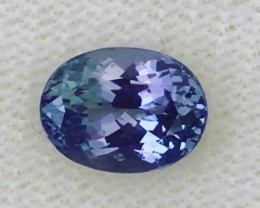 Luminous 1.8ct Oval Violet Blue Tanzanite - G15