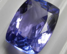 AAA STUNNINGLY BEAUTIFUL 3.74CT RECTANGULAR CUSHION CUT TANZANITE!!