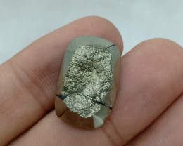22x14mm Natural Pyrite Druzy Loose Gemstone VAF38