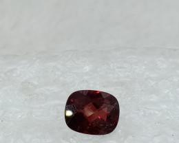 10x8mm Natural Garnet Checkered Gemstone UnTreated VAF70