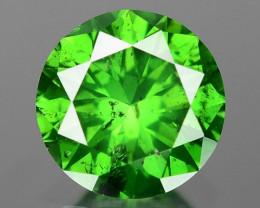 0.40 CT DIAMOND SPARKLING GREEN COLOR GD1