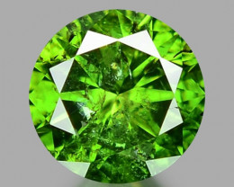 0.25 CT DIAMOND SPARKLING GREEN COLOR GD8