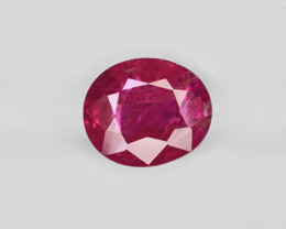 Ruby, 4.50ct - Mined in Burma | Certified by GRS