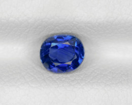Blue Sapphire, 0.65ct - Mined in Cambodia | Certified by GIA & IGI