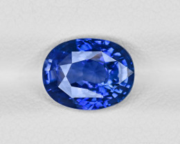 Blue Sapphire, 2.11ct - Mined in Sri Lanka | Certified by GRS