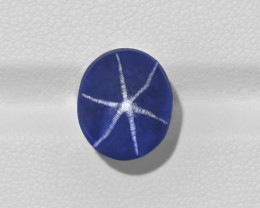 Blue Star Sapphire, 10.21ct - Mined in Sri Lanka | Certified by GRS
