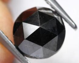 2.18Ct Natural Black Rose Cut Fancy Diamond B0706