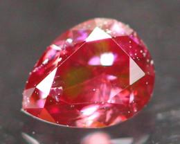 0.14Ct Fancy Purplish Red Natural Diamond E0705