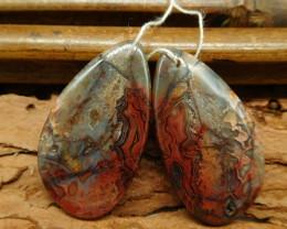 Crazy rosetta earring pairs (G0394)