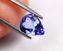1.09cts Natural Violet Blue Tanzanite EE07