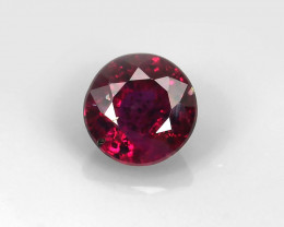 0.16CT UNHEATED RUBY ROUND CUT