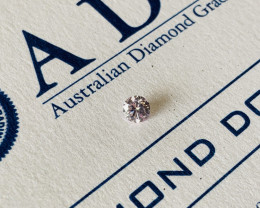 0.23ct 9PP I1 Argyle Pink Diamond