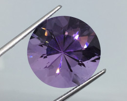 16.53 Carat VVS Amethyst Unheated Precision Cut and Polished Quality !