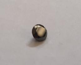 1 carat certified round Black Diamond #bd1
