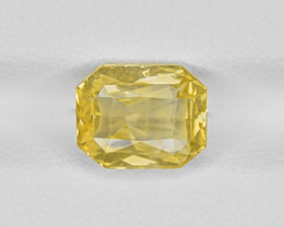 Yellow Sapphire, 3.02ct - Mined in Sri Lanka | Certified by IGI