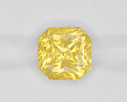 Yellow Sapphire, 8.11ct - Mined in Sri Lanka | Certified by GIA