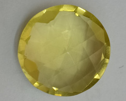16x16mm Lemon Quartz Checkered Natural Untreated VAF165