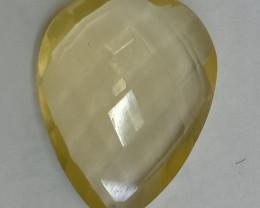 20x15 Lemon Quartz Checkered Natural Untreated VAF166