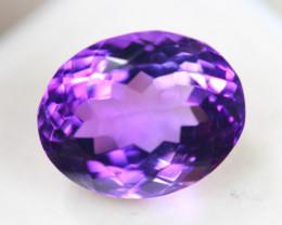 9.03ct Purple Amethyst Oval Cut Lot GW3922