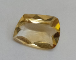 3.40 Cts Citrine Fancy Cut Loose Natural UnTreated VAF174