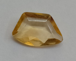 1.50 Cts Citrine Fancy Cut Loose Natural UnTreated VAF185