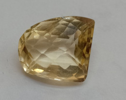 8.05 Cts Citrine Fancy Cut Loose Natural UnTreated VAF186