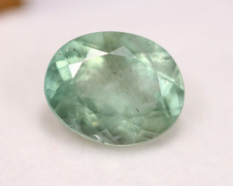 3.91ct Greenish Blue Aquamarine Oval Cut Lot GW3953