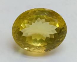 18x14mm Lemon Quartz Checkered Natural Untreated VAF188