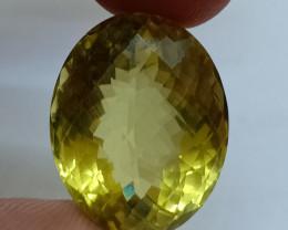 22x17mm Lemon Quartz Checkered Natural Untreated VAF190